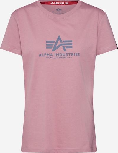 ALPHA INDUSTRIES Koszulka 'New Basic T Wmn' w kolorze różowy pudrowym, Podgląd produktu