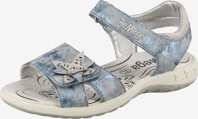 Be Mega Sandalen in blau, Produktansicht