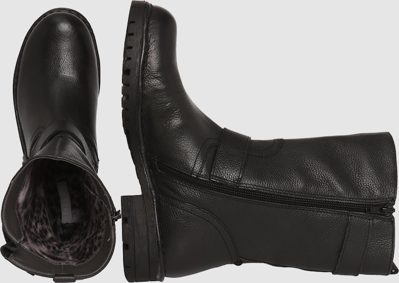 bugatti Boots Boots bugatti aus Leder Verschleißfeste billige Schuhe 17d66f