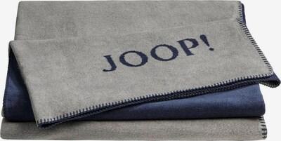 JOOP! Deken in de kleur Navy / Grijs, Productweergave