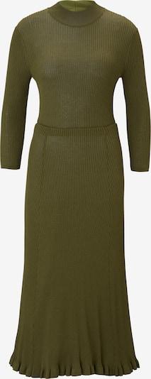 IVY & OAK Midi Kleid in oliv: Frontalansicht