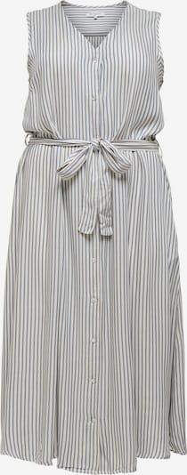ONLY Carmakoma Kleid in grau / weiß, Produktansicht