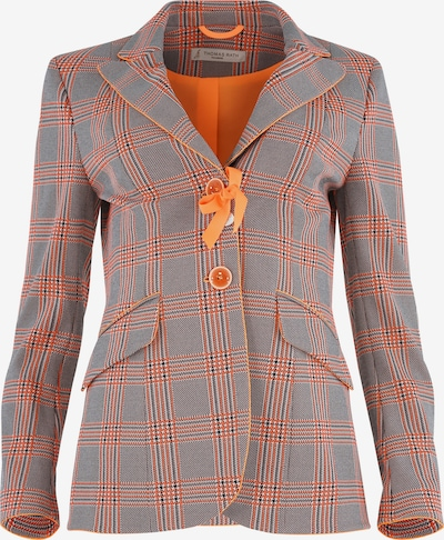 THOMAS RATH Blazer ' London ' in grau / orange, Produktansicht