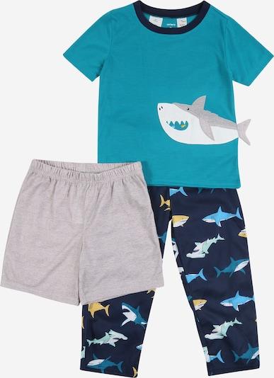 Carter's Set 'Poly Shark' in de kleur Turquoise / Nachtblauw, Productweergave