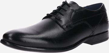 Chaussure à lacets Dockers by Gerli en noir