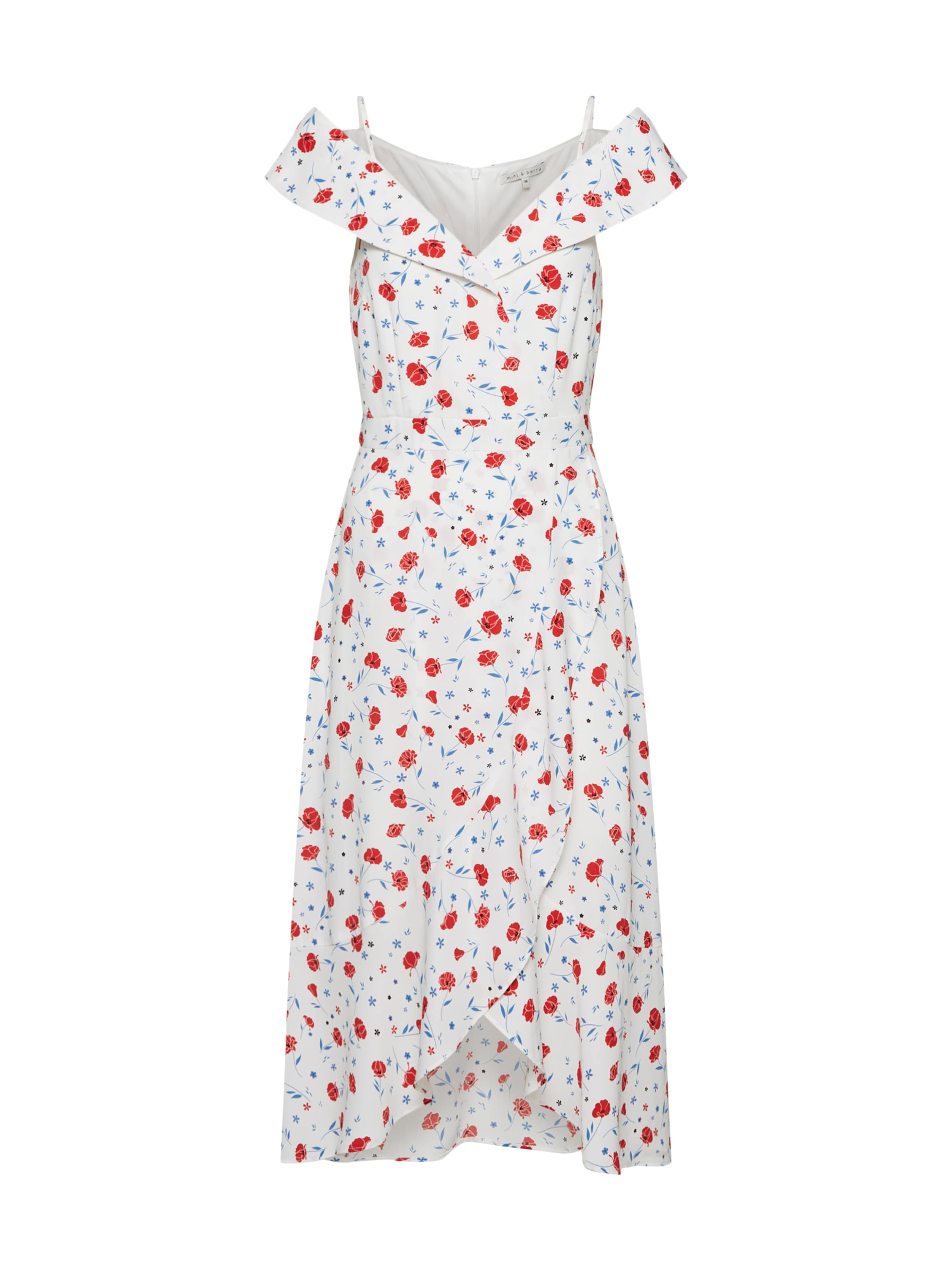 Weiß Mint In BlauRot Kleid amp;berry PXukiZ