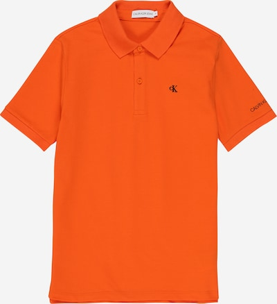 Calvin Klein Jeans Poloshirt 'ESSENTIAL' in orange, Produktansicht