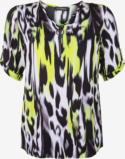 Doris Streich 'Bluse mit Zipper-Ausschnitt' in mischfarben, Produktansicht