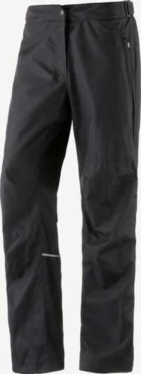 Maier Sports Regenhose 'Raindrop L' in schwarz, Produktansicht