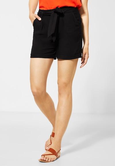 STREET ONE Shorts in schwarz, Modelansicht