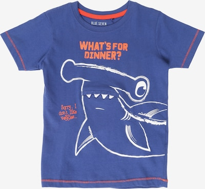 BLUE SEVEN T-Krekls pieejami karaliski zils / sarkans / balts, Preces skats