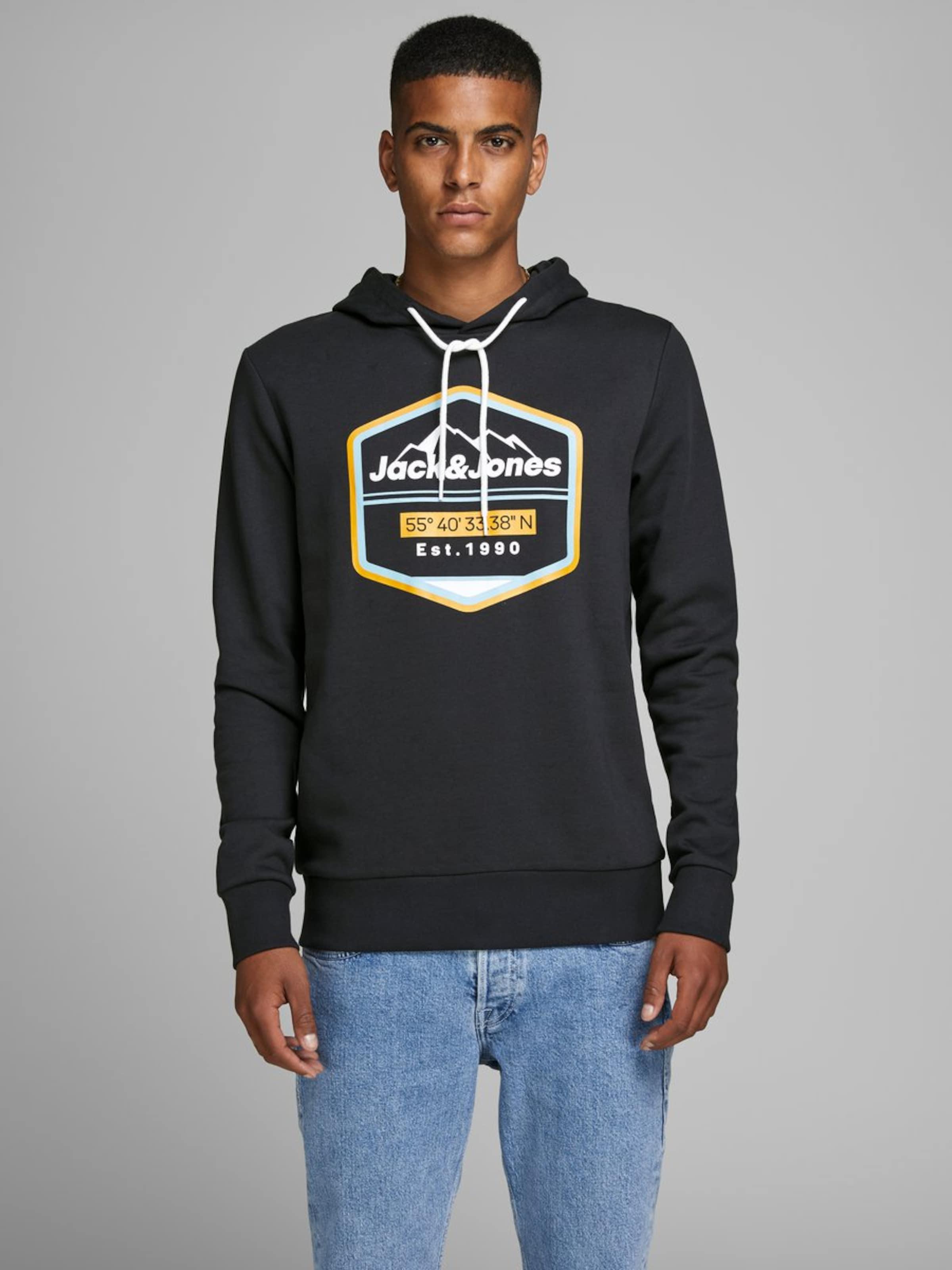Jackamp; Sweatshirt SchwarzWeiß Jones In Jones Jackamp; xBrdCeo