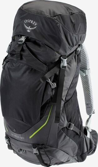 Osprey 'Stratos 50L' Trekkingrucksack in schwarz, Produktansicht