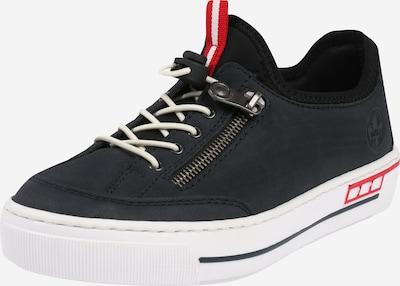 RIEKER Sneaker in navy / rot / weiß, Produktansicht