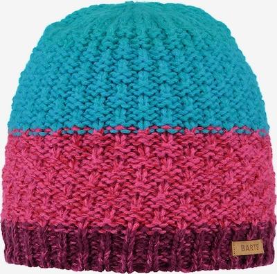 Barts Mütze in türkis / pink / bordeaux, Produktansicht