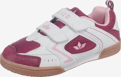 LICO Sportschuhe in pastellpink / rotviolett / weiß, Produktansicht