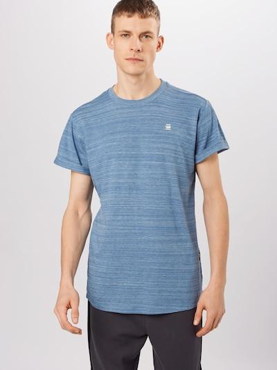 G-Star RAW Shirt 'Lash' in blau: Frontalansicht