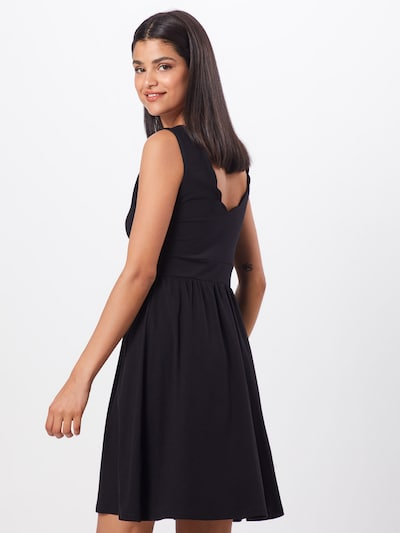 ABOUT YOU Kleid 'Frauke' in schwarz: Rückansicht