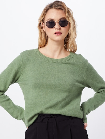VILA Pullover 'RIL' in grün, Modelansicht