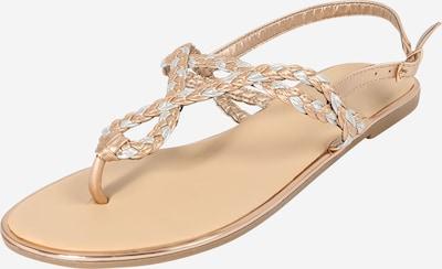 Hailys Sandale 'Enola' in rosegold / silber, Produktansicht