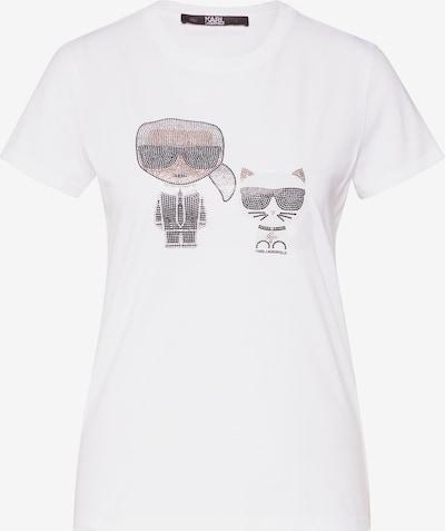 Karl Lagerfeld Shirt 'ikonik' in weiß, Produktansicht