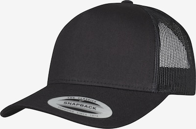 Flexfit Pet '5-Panel Retro Trucker' in de kleur Zwart, Productweergave