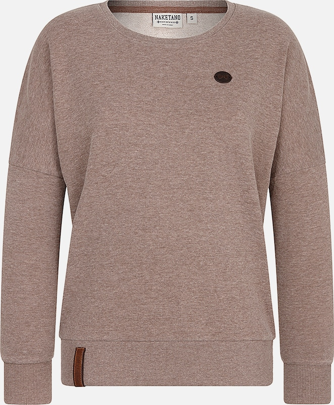 Camel En Naketano Naketano shirt Sweat hdrsQt