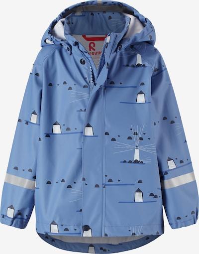 Reima Jacke 'Vesi' in nachtblau / royalblau / weiß, Produktansicht