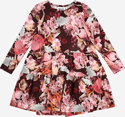 Molo Kleid 'Chia' in orange / rosé / grenadine / schwarz / weiß, Produktansicht