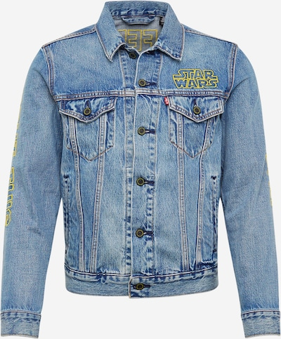 LEVI'S Jeansjacke 'TRUCKER' in blue denim, Produktansicht