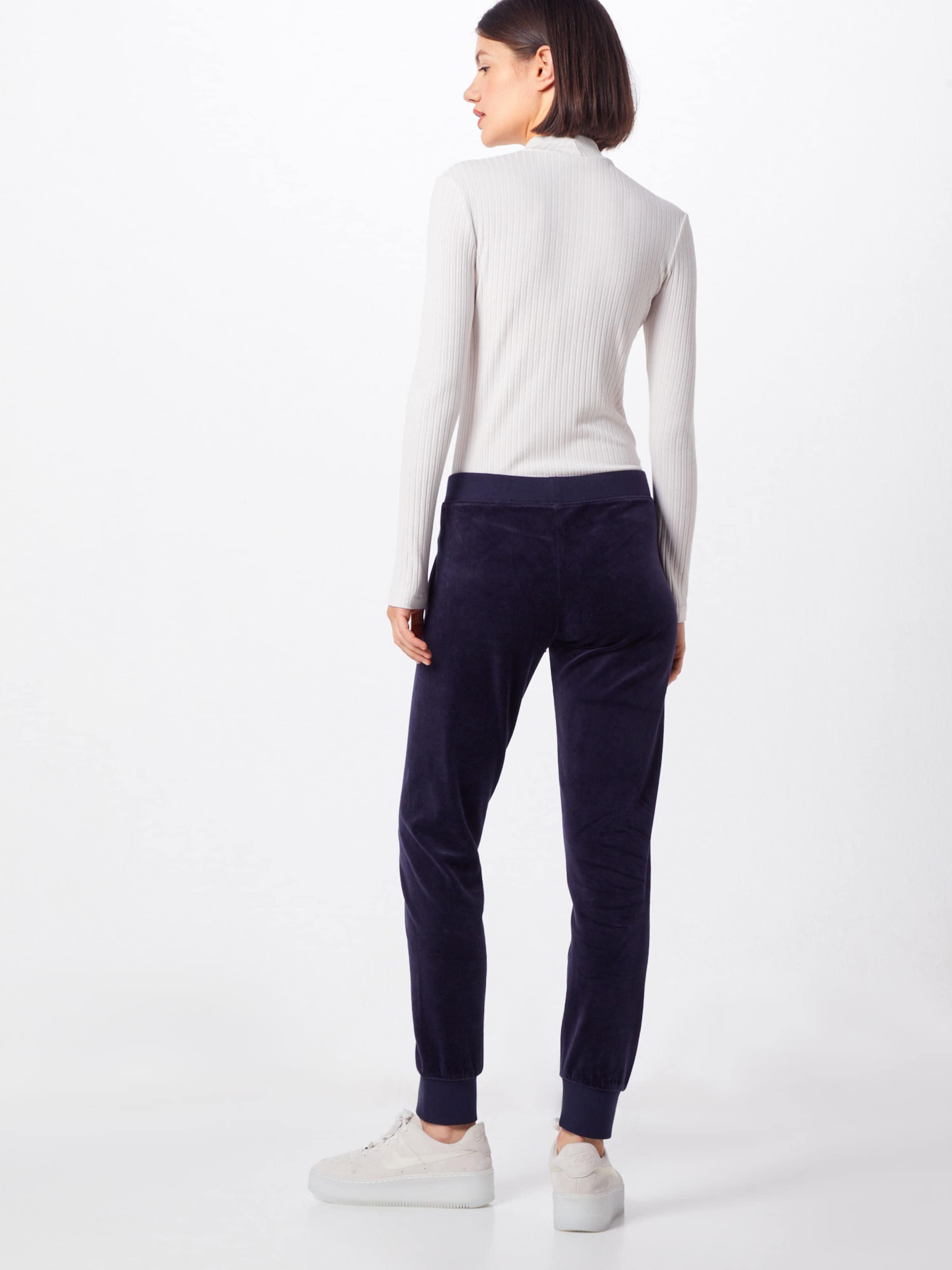 Nachtblau Juicy Black 'velour Couture Label Samthose Zuma' In 5ARc43jLq