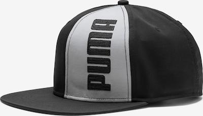 PUMA Cap 'Flatbrim II' in schwarz / weiß, Produktansicht