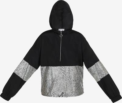 myMo ATHLSR Jacke in schwarz / silber, Produktansicht