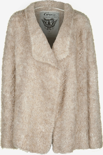 Grace Strickjacke 'TEDDY' in beige, Produktansicht
