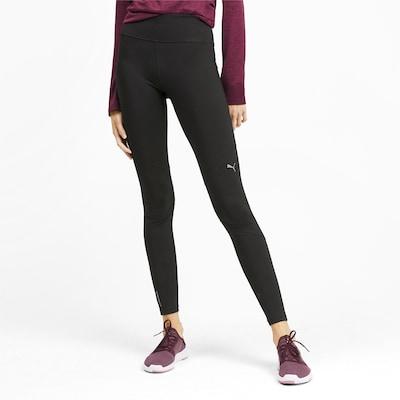 PUMA Športne hlače | črna barva: Frontalni pogled