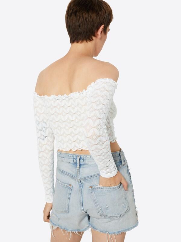 En 'tulip' Bik shirt Bok T Blanc 34jARL5