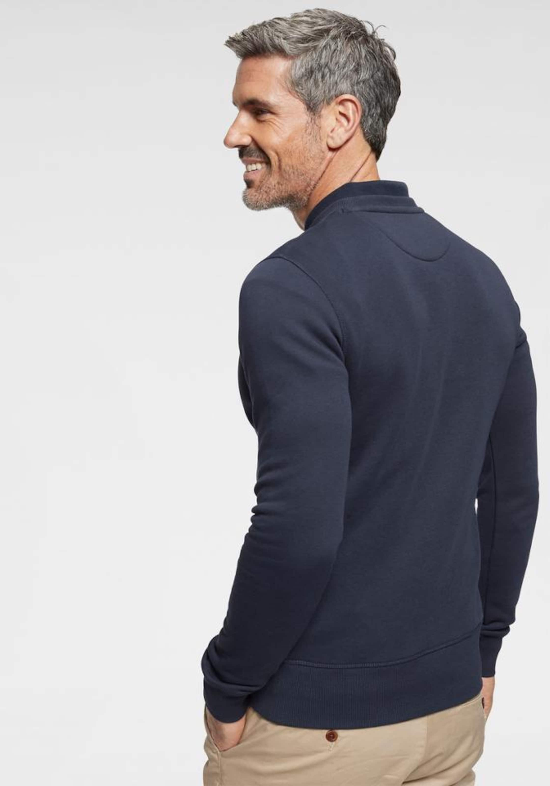 Navy Gant Sweatshirt 'original In C neck' mwO8vNn0