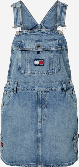 Tommy Jeans Latzkleid 'DUNGAREE' in blue denim, Produktansicht