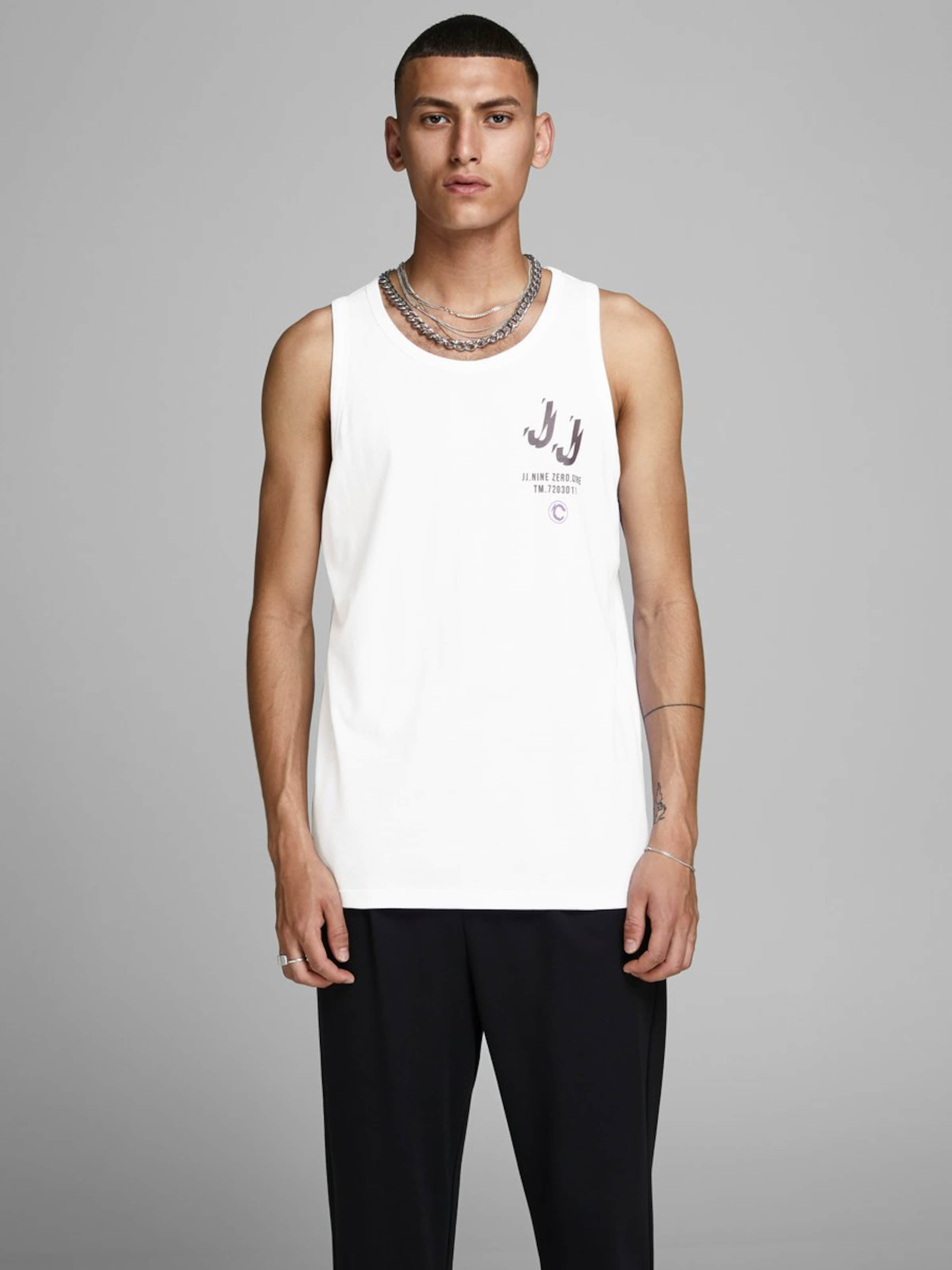Jackamp; shirt En Blanc PourpreNoir Jones T LAR354j