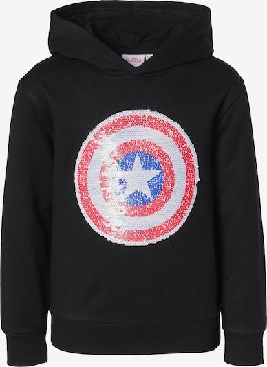 Marvel Avengers Pullover in rot / schwarz / weiß, Produktansicht
