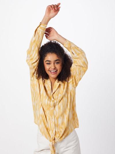 Soft Rebels Bluse 'Blaze' in gelb, Modelansicht
