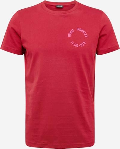 DIESEL Shirt 'DIEGO' in de kleur Pink / Bordeaux, Productweergave