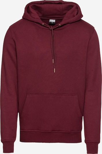 Urban Classics Sweatshirt in burgunder: Frontalansicht