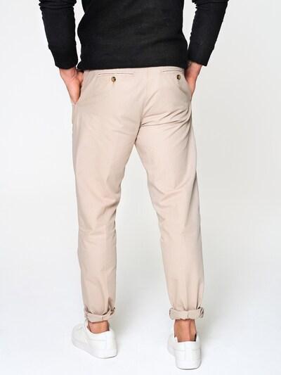 ABOUT YOU x Magic Fox Pantalon chino 'Anton' en beige: Vue de dos