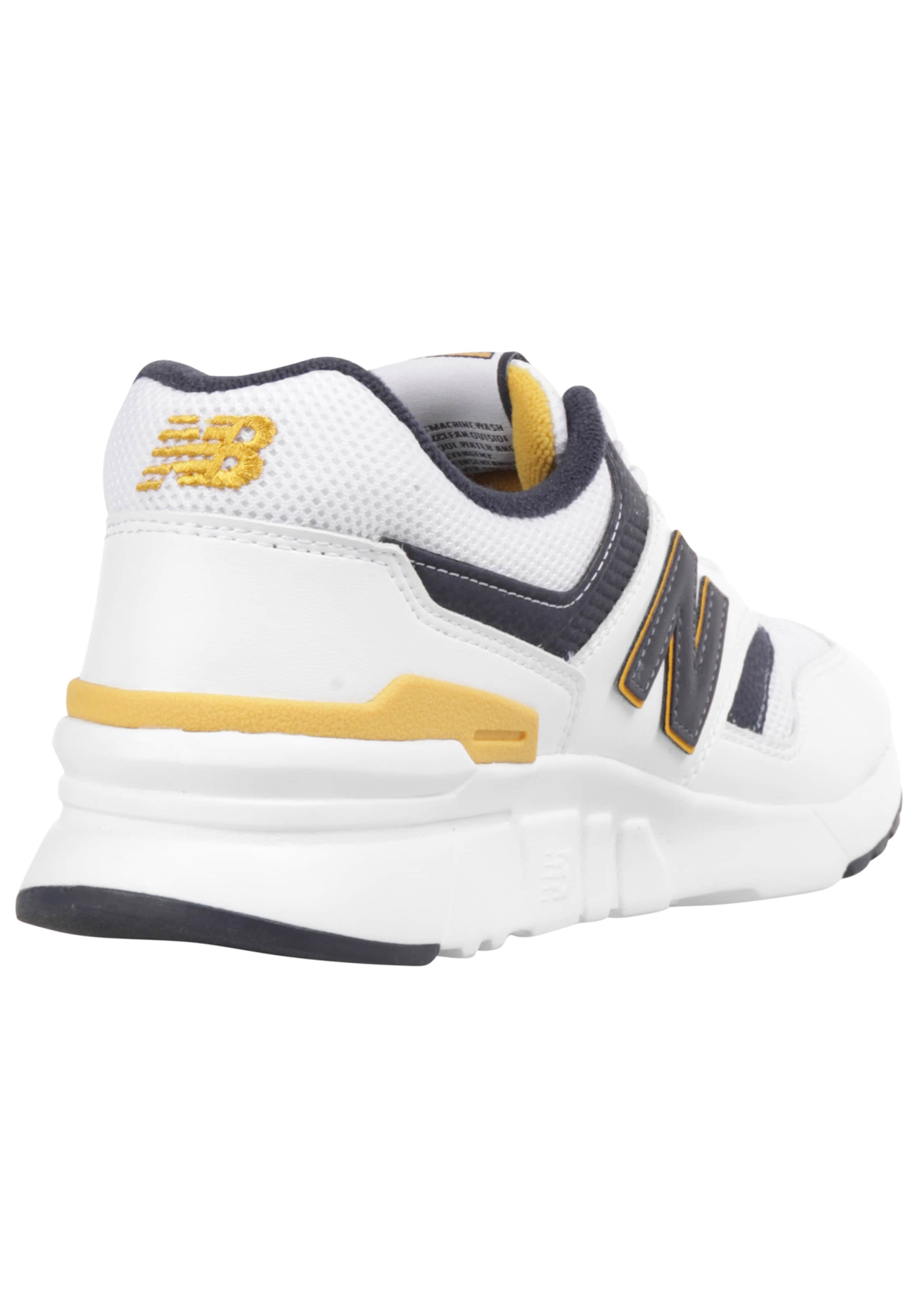 Balance DunkelblauDunkelgelb In Weiß Sneaker New PXTlwOikZu