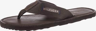 Infradito TOMMY HILFIGER di colore marrone scuro, Visualizzazione prodotti