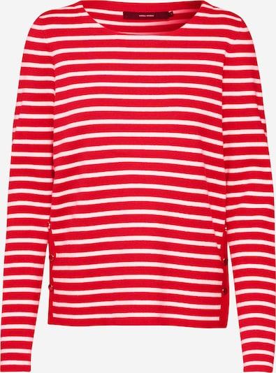 VERO MODA Pullover 'VMSAILOR' in creme / rot, Produktansicht