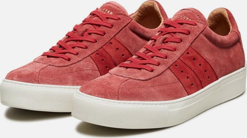 SELECTED FEMME Wildleder Sneaker Verschleißfeste billige Schuhe