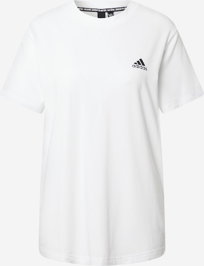 ADIDAS PERFORMANCE Functioneel shirt 'MUST HAVE 3 STRIPES' in de kleur Zwart / Wit, Productweergave
