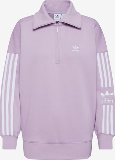 ADIDAS ORIGINALS Sweat-shirt 'LOCK UP SWEAT' en lilas / blanc, Vue avec produit